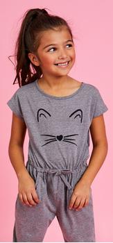 Cat Jumpsuit Outfit