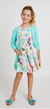Cactus Geo Dress Outfit
