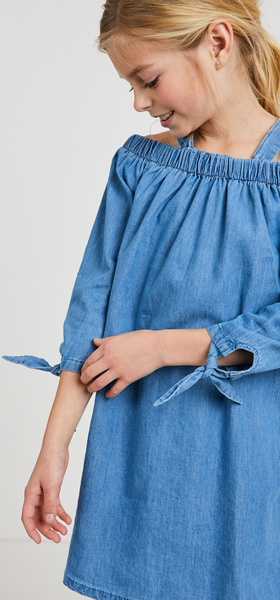 Chambray Cat Dress Outfit