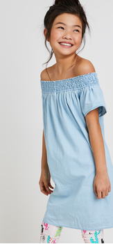 Chambray Cactus Dress Outfit