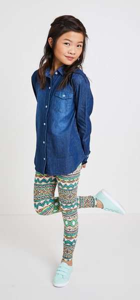 Chambray Multi Tribal Outfit