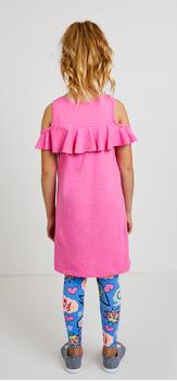 Ruffle Comic Dress Outfit