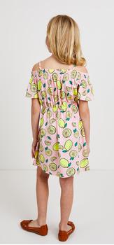 The Lemon Print Dress Outfit