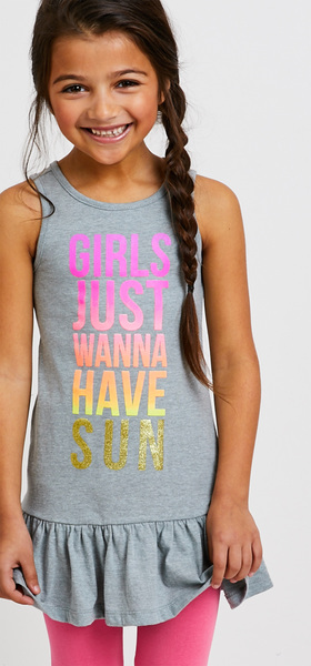 Girls Just Wanna Have Sun Outfit