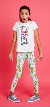 Llama Cactus Outfit