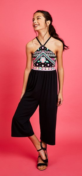 Halter Romper Outfit