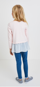 Wink Graphic Denim Outfit