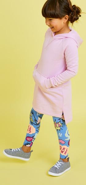 c1316edf89 Comic Sweatshirt Dress Outfit - FabKids