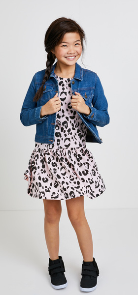 The Pink Leopard Dress Outfit