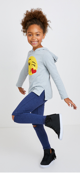 The Glitter Emoji Hoodie Outfit