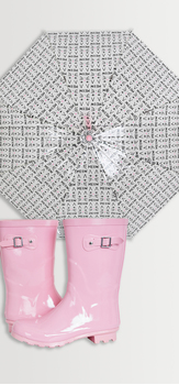Rain Boot & Umbrella Pack
