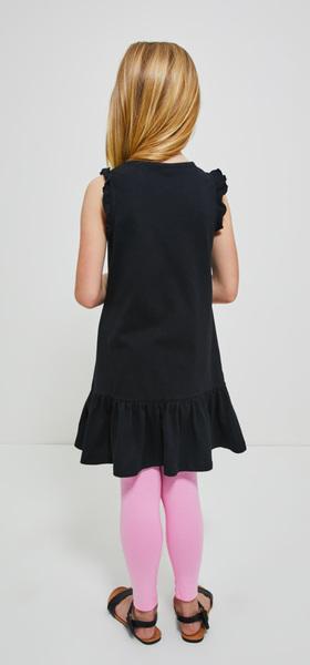 Stay Stellar Ruffle Tank Dress Legging Outfit