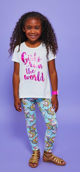Girls Run The World Legging Outfit