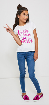 Girls Run The World Jegging Outfit