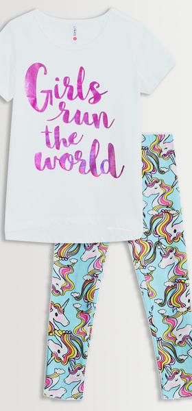Girls Run The World Legging Pack