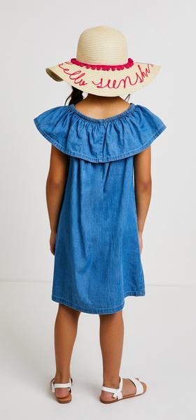 Chambray Sunshine Dress Outfit