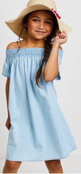 The Chambray Sunshine Dress Outfit