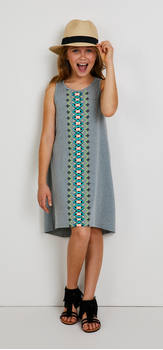 The Printed Tank Dress Outfit