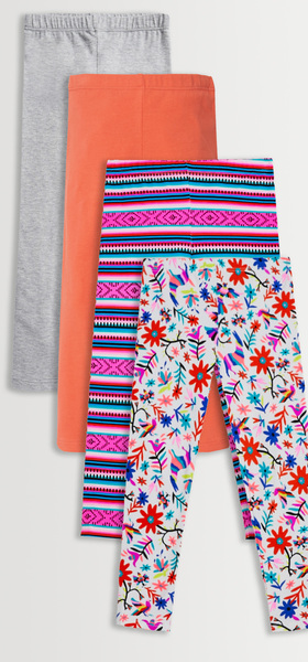 Floral Boho Legging 4-Pack