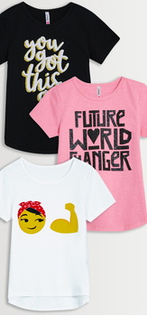 Future World Changer Tee 3-Pack