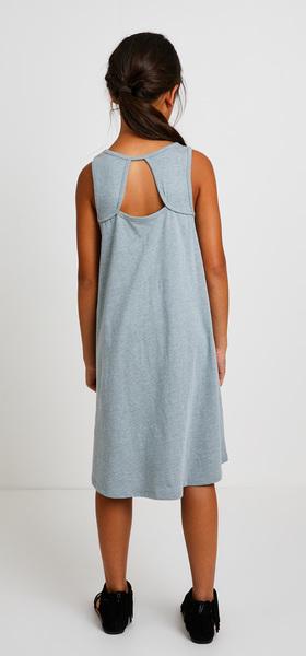 Hi-Low Printed Tank Dress Outfit