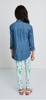 Lllama Chambray Outfit