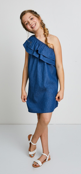 One Shoulder Dress Outfit
