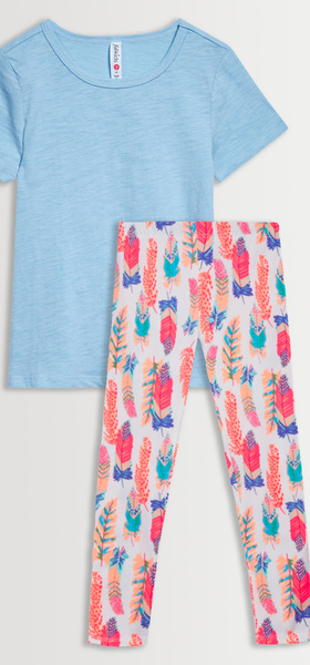 Feather Legging Tee Pack