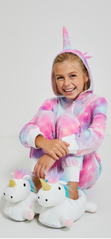 Snuggly Unicorn Outfit