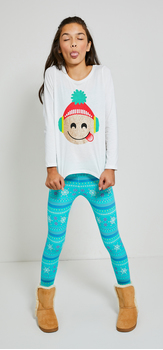 Holly Jolly Emojis Outfit