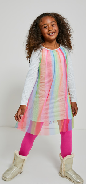 Wrapped In Rainbow Outfit