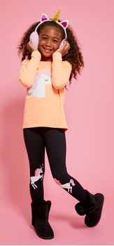 Cotton Candycorn Outfit