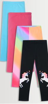 Colorful Unicorn Legging Pack