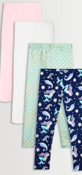 Narwhal Mermaid Legging Pack