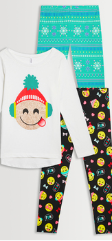 Holiday Emoji Legging Pack