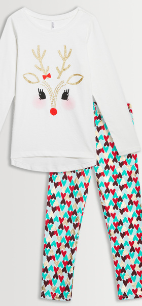 Reindeer Heart Legging Pack
