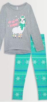 Llama Snowflake Legging Pack