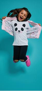 Panda Puff Outfit