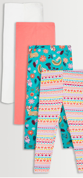 Geo Floral Legging Pack