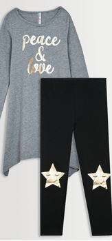 Peace & Love Legging Pack