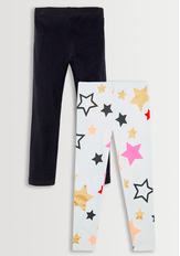 Star Print Legging Pack