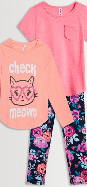 Check Meowt Legging Pack