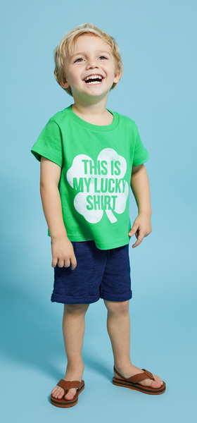 Lucky Tee Outfit