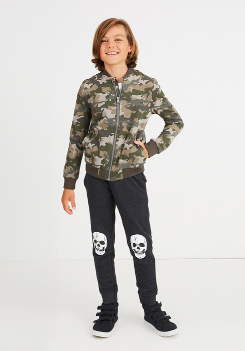 Camo Skull Outfit