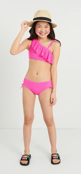 Pink Bikini Outfit