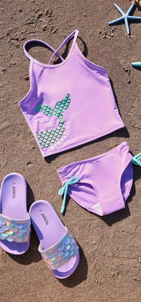 Mermaid Slide Swim Pack