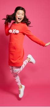 XOXO Pom Outfit