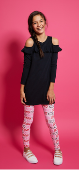 Ruffle XOXO Outfit