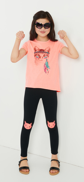 Coral Cat Outfit