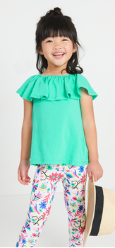 Floral Ruffle Outfit